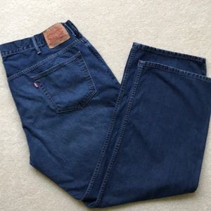 LEVI'S 569 RED TAB LOOSE FIT BLUE JEANS 42 X 32